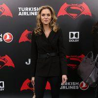 Hilarie Burton en la premiere de 'Batman v Superman' en Nueva York