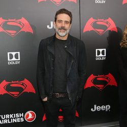 Jeffrey Dean Morgan en la premiere de 'Batman v Superman' en Nueva York