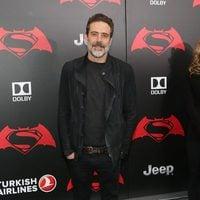 Jeffrey Dean Morgan en la premiere de 'Batman v Superman' en Nueva York