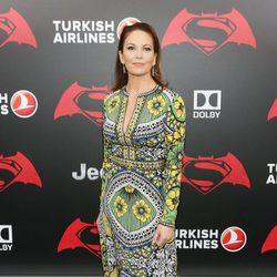 La actriz Diane Lane en la premiere de 'Batman v Superman' en Nueva York