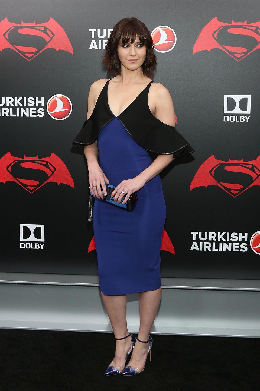 Mary Elizabeth Winstead en la premiere de 'Batman v Superman' en Nueva York