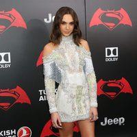 La actriz Gal Gadot en la premiere de 'Batman v Superman' en Nueva York