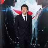 Jesse Eisenberg en la premiere de 'Batman v Superman' en Nueva York