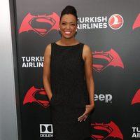 Aisha Tyler en la premiere de 'Batman v Superman' en Nueva York
