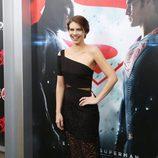 Lauren Cohan en la premiere de 'Batman v Superman' en Nueva York