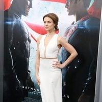 Erin Richards en la premiere de 'Batman v Superman' en Nueva York