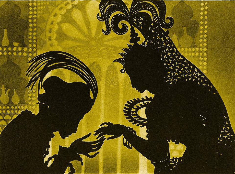 Las aventuras del príncipe Achmed, fotograma 1 de 12