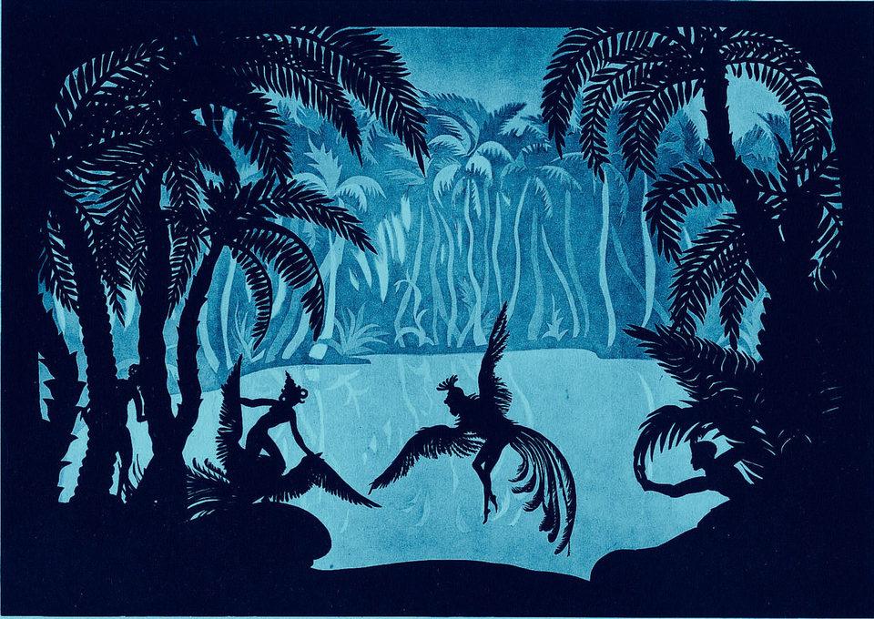 Las aventuras del príncipe Achmed, fotograma 3 de 12