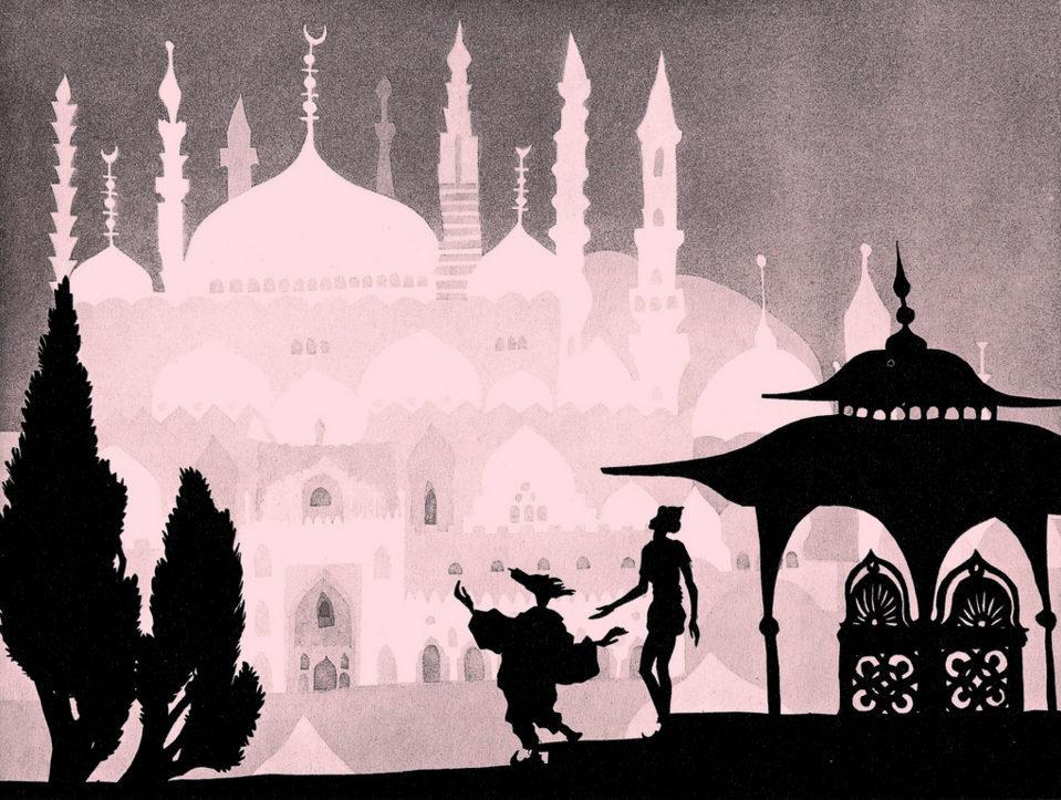 Las aventuras del príncipe Achmed, fotograma 6 de 12