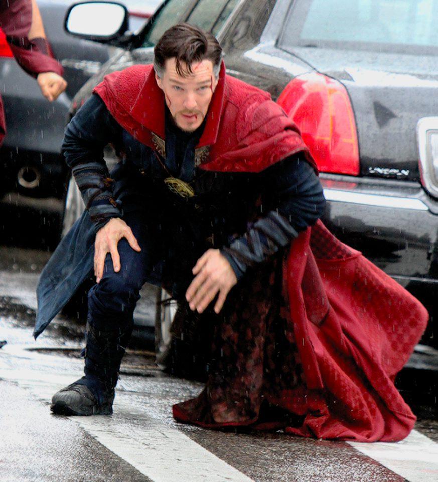 Benedict Cumberbatch magullado en el rodaje de \'Doctor Extraño ...