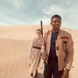 Una pareja como Finn y Rey de 'Star Wars: El despertar de la fuerza'