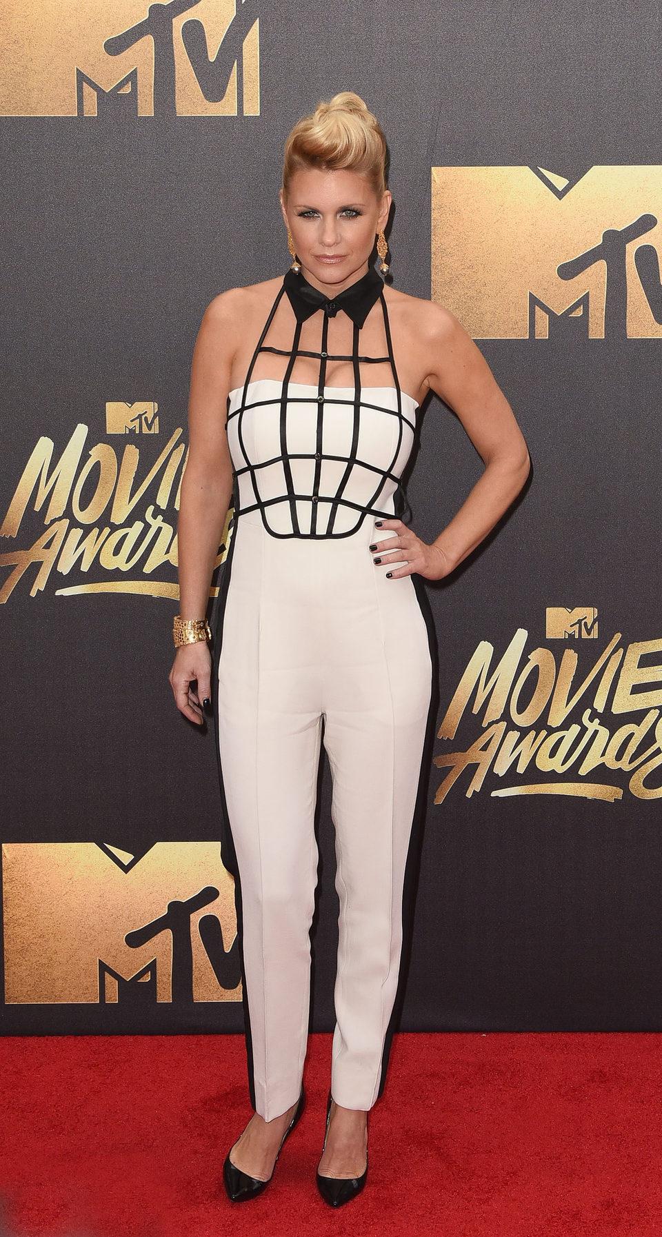 Carrie Keagan en la alfombra roja de los MTV Movie Awards 2016