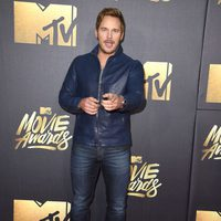 Chris Pratt en la alfombra roja de los MTV Movie Awards 2016