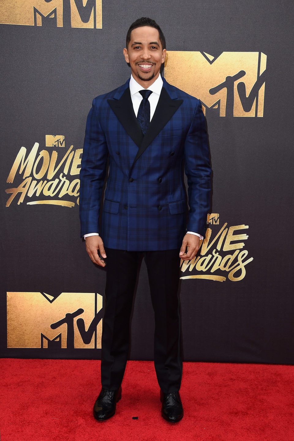 Neil Brown Jr. en la alfombra roja de los MTV Movie Awards 2016