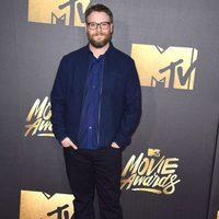 Seth Rogen at the 2016 MTV Movie Awards' red carpet