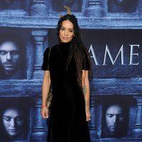 Lisa Bonet at the premiere of 'Game of Thrones' Season Six