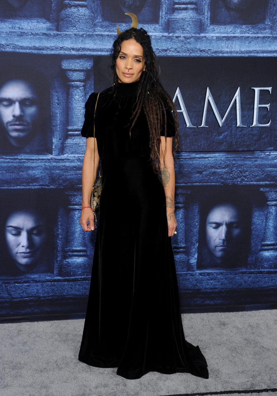 Lisa Bonet en la premiere de la sexta temporada de 'Juego de Tronos'