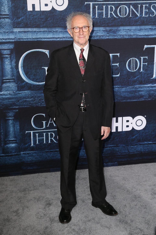 Jonathan Pryce en la premiere de la sexta temporada de 'Juego de Tronos'