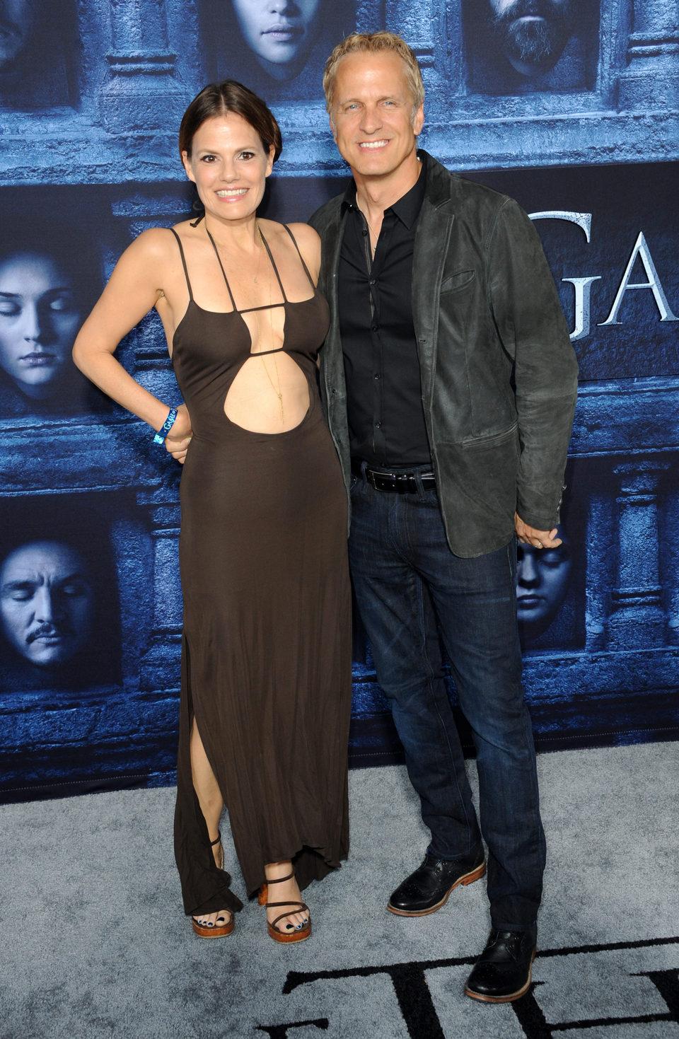 Suzanne Cryer y Patrick Fabian en la premiere de la sexta temporada de 'Juego de Tronos'