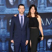 D. B. Weiss accompanied at the premiere of 'Game of Thrones' Season Six
