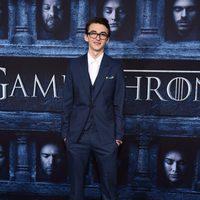 Isaac Hempstead Wright en la premiere de la sexta temporada de 'Juego de Tronos'