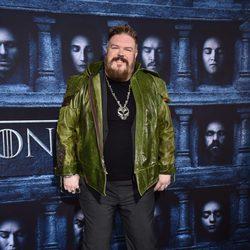 Kristian Nairn en la premiere de la sexta temporada de 'Juego de Tronos'