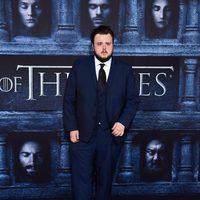John Bradley at the premiere of 'Game of Thrones' Season Six