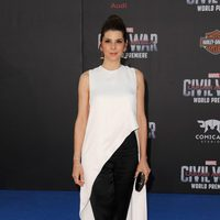 Marisa Tomei en la premiere mundial de 'Capitán América: Civil War'