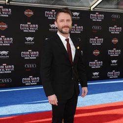 Chris Hardwick en la premiere mundial de 'Capitán América: Civil War'