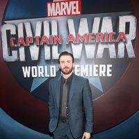 Chris Evans en la premiere mundial de 'Capitán América: Civil War'