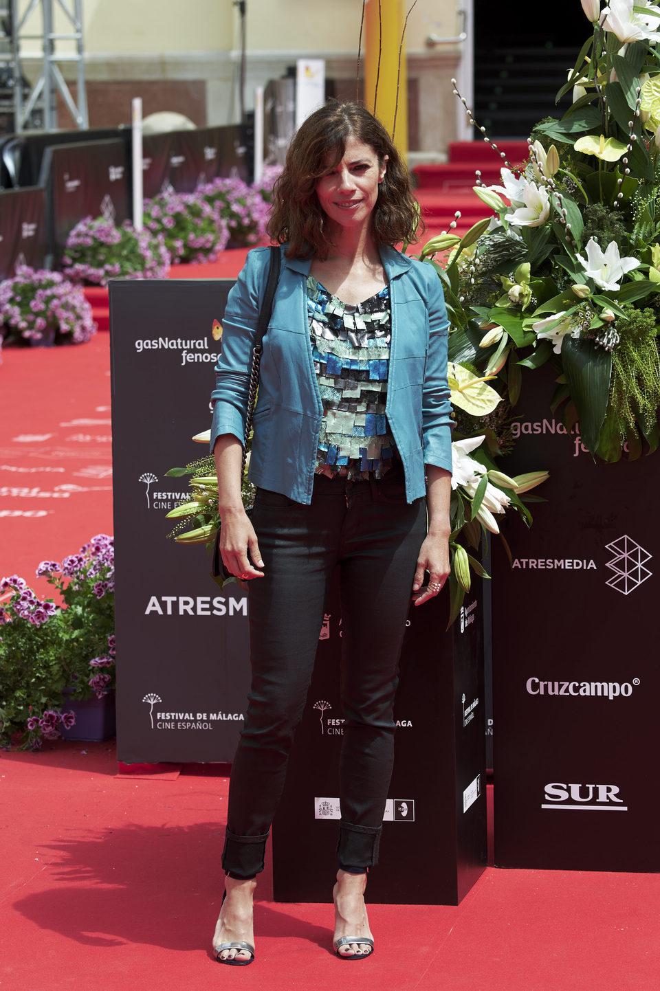 Maribel Verdú en la premiere de 'La Punta del Iceberg' del Festival de Málaga 2016