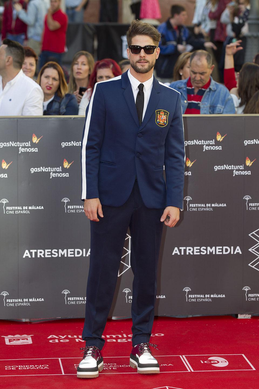 Luis Fernández en la Ceremonia de Apertura del Festival de Málaga 2016