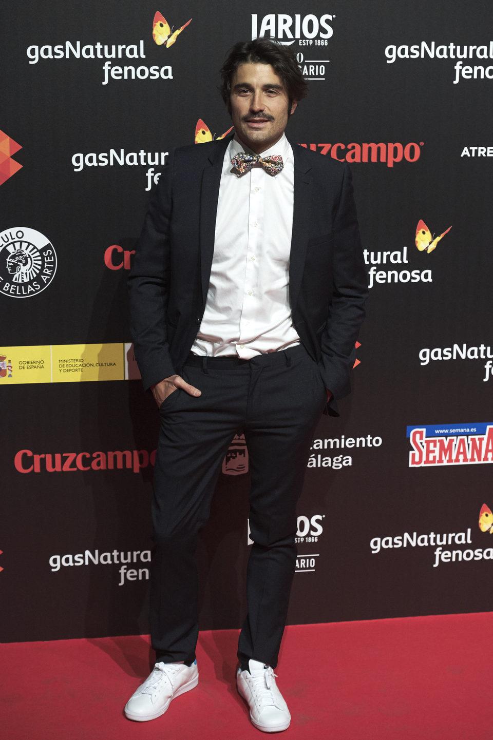 Alex García en el Cóctel de Presentación del Festival de Málaga 2016.