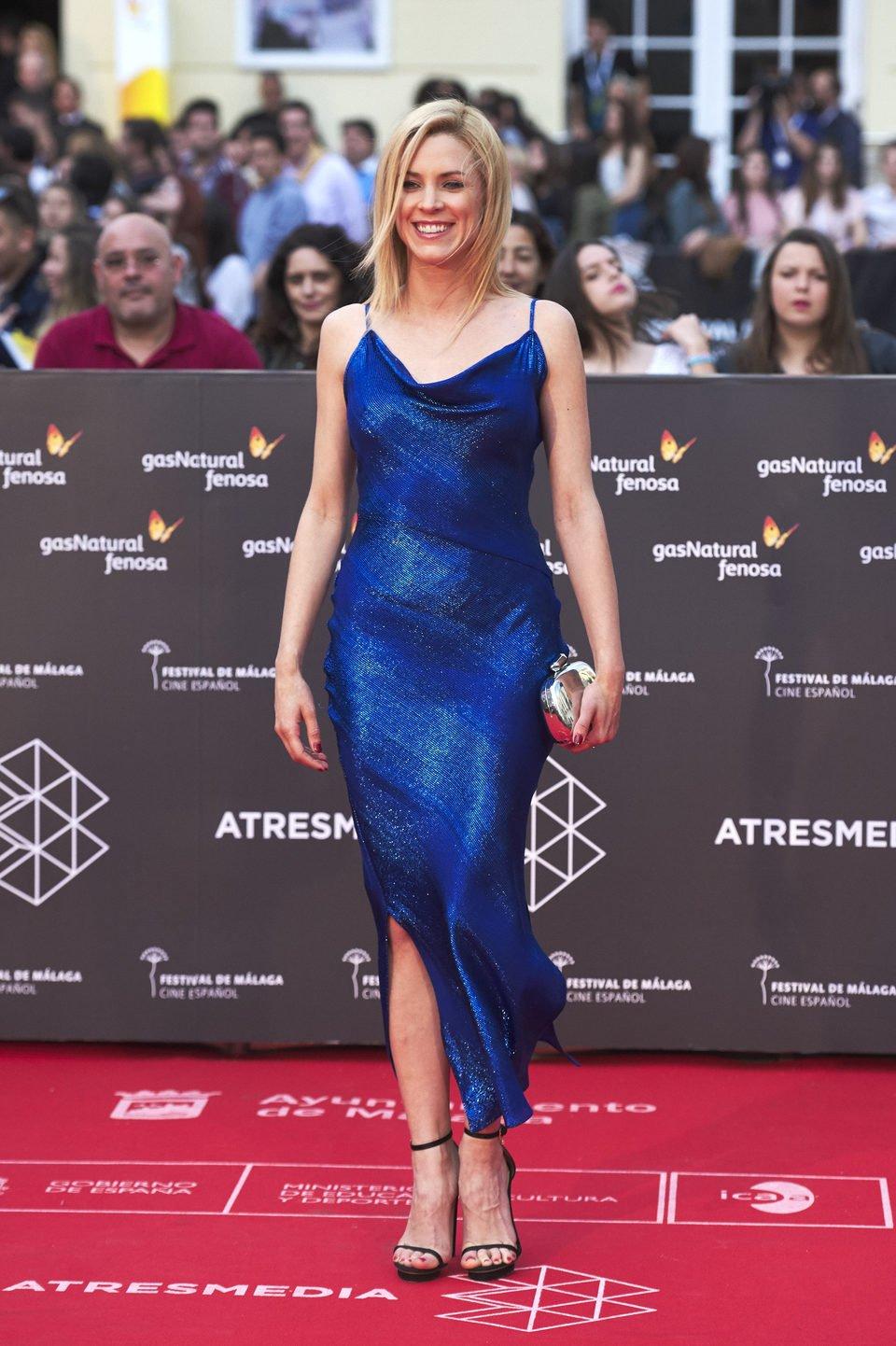 Maggie Civantos en la premiere de 'La punta del iceberg' en el Festival de Málaga 2016