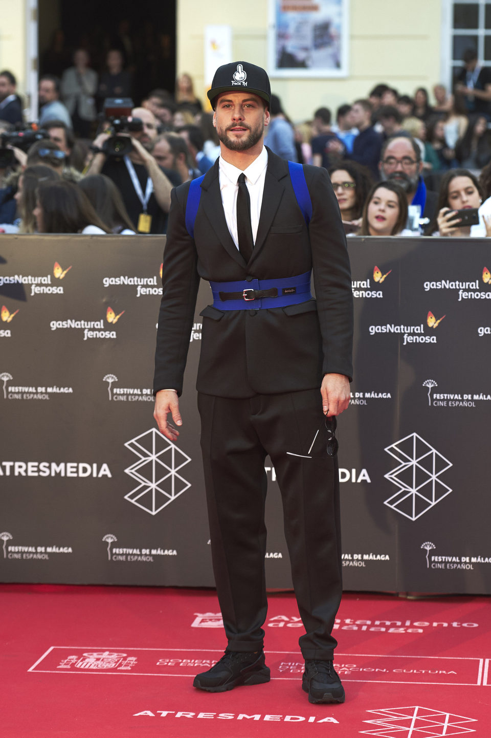 Luis Fernández en la premiere de 'La punta del iceberg' del Festival de Málaga 2016