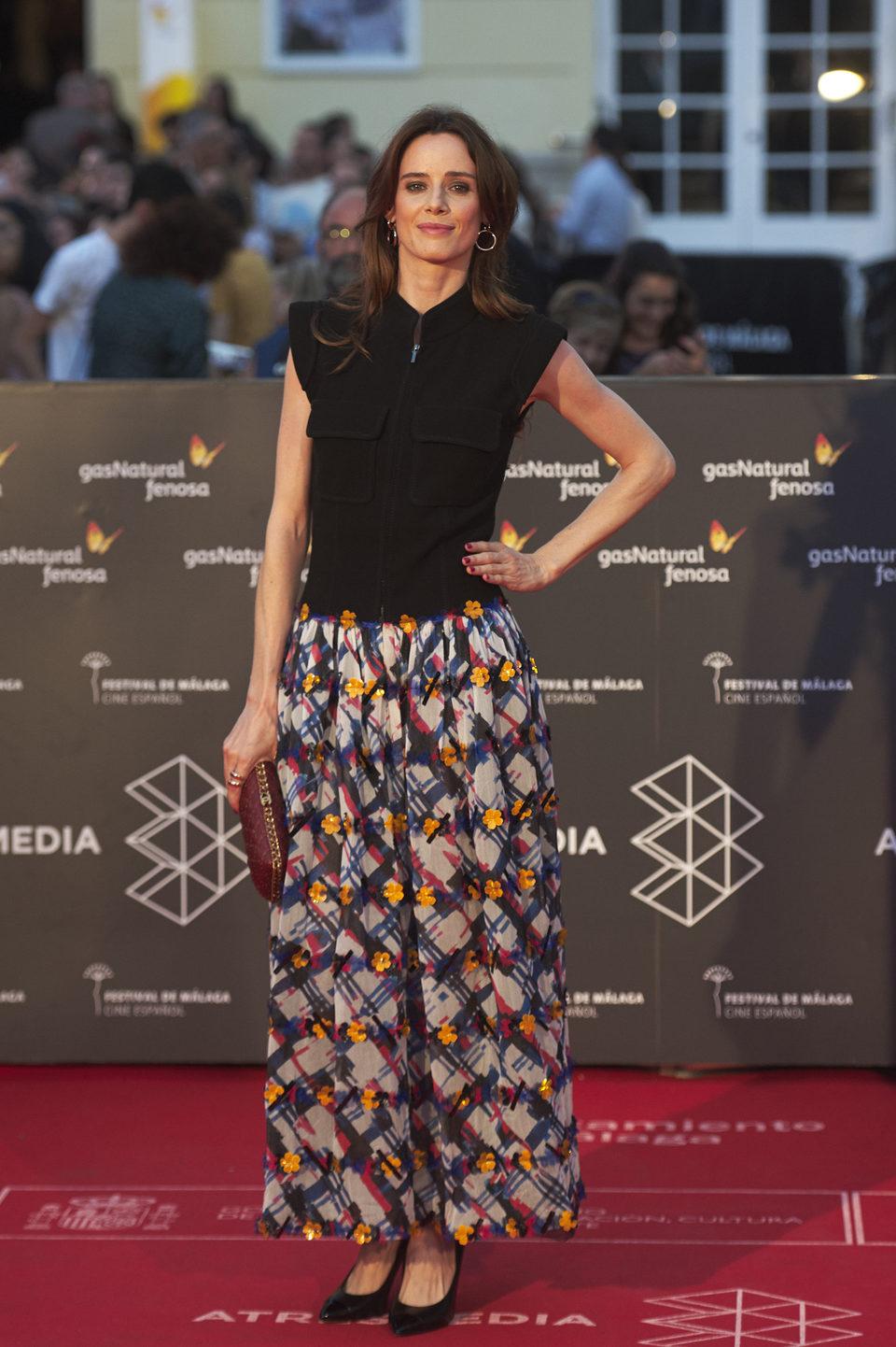 Pilar López de Ayala en la premiere de 'Rumbos' del Festival de Málaga 2016