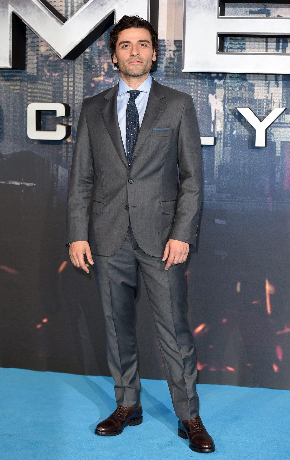 Oscar Isaac en la premiere en Londres de 'X-Men: Apocalipsis'