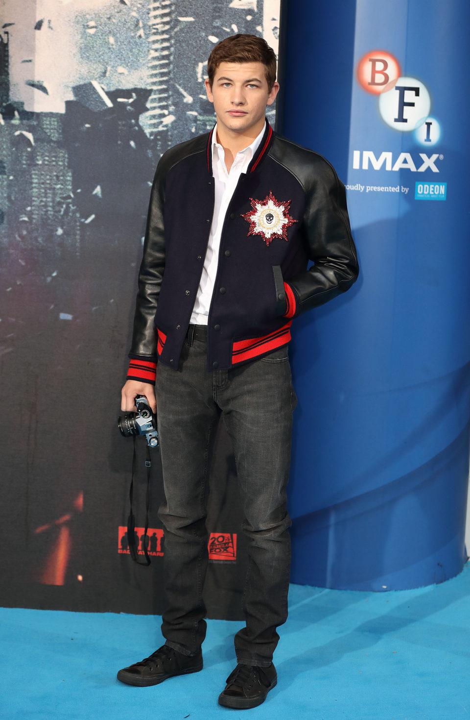Tye Sheridan en la premiere en Londres de 'X-Men: Apocalipsis'