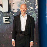 Tómas Lemarquis en la premiere en Londres de 'X-Men: Apocalipsis'