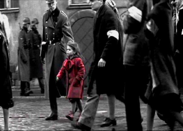 La lista de Schindler, fotograma 1 de 4