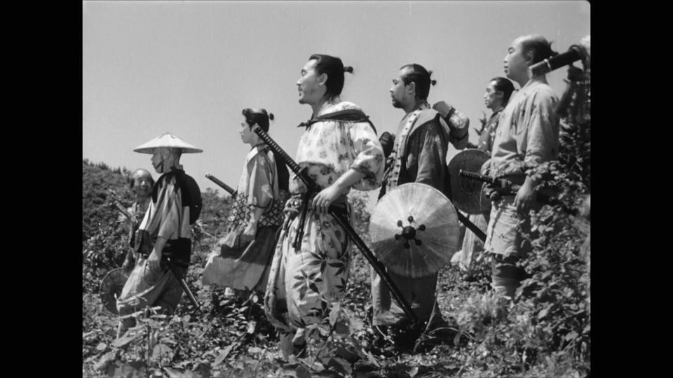 Los siete samuráis, fotograma 6 de 6