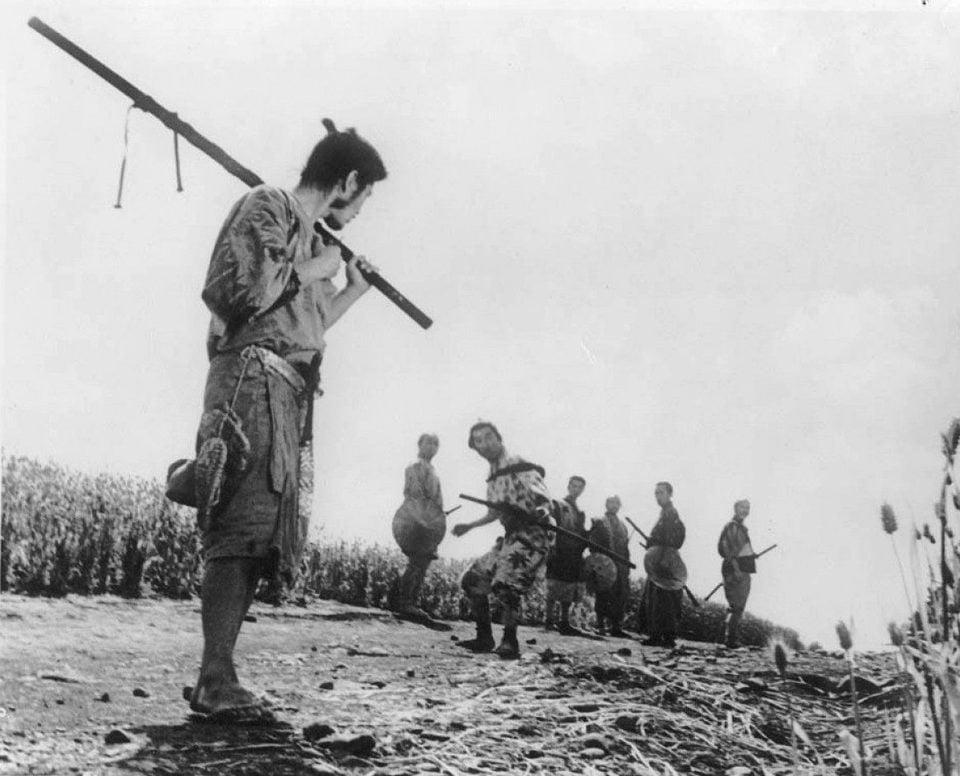 Los siete samuráis, fotograma 4 de 6
