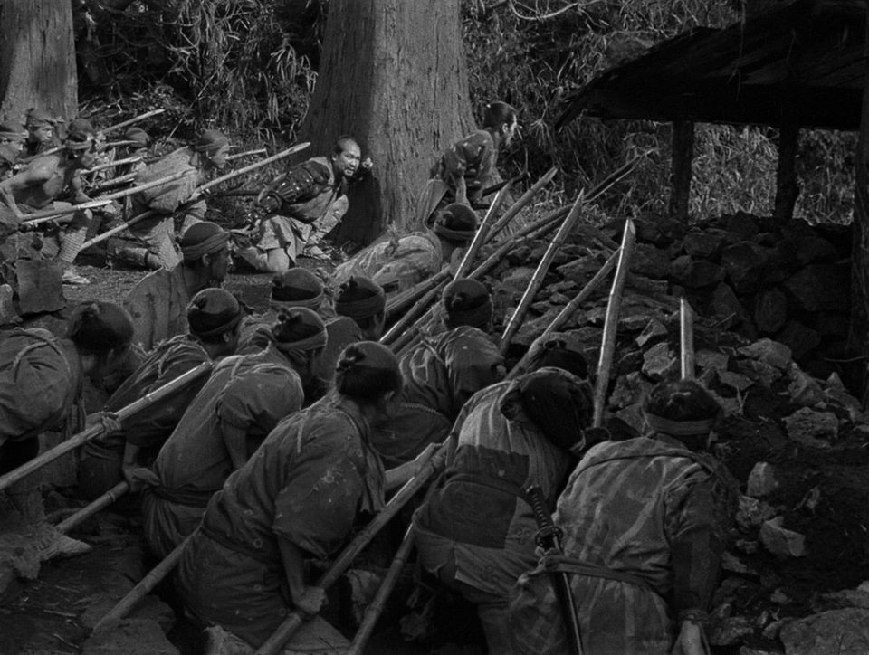 Los siete samuráis, fotograma 2 de 6