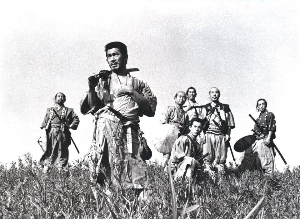 Los siete samuráis, fotograma 1 de 6