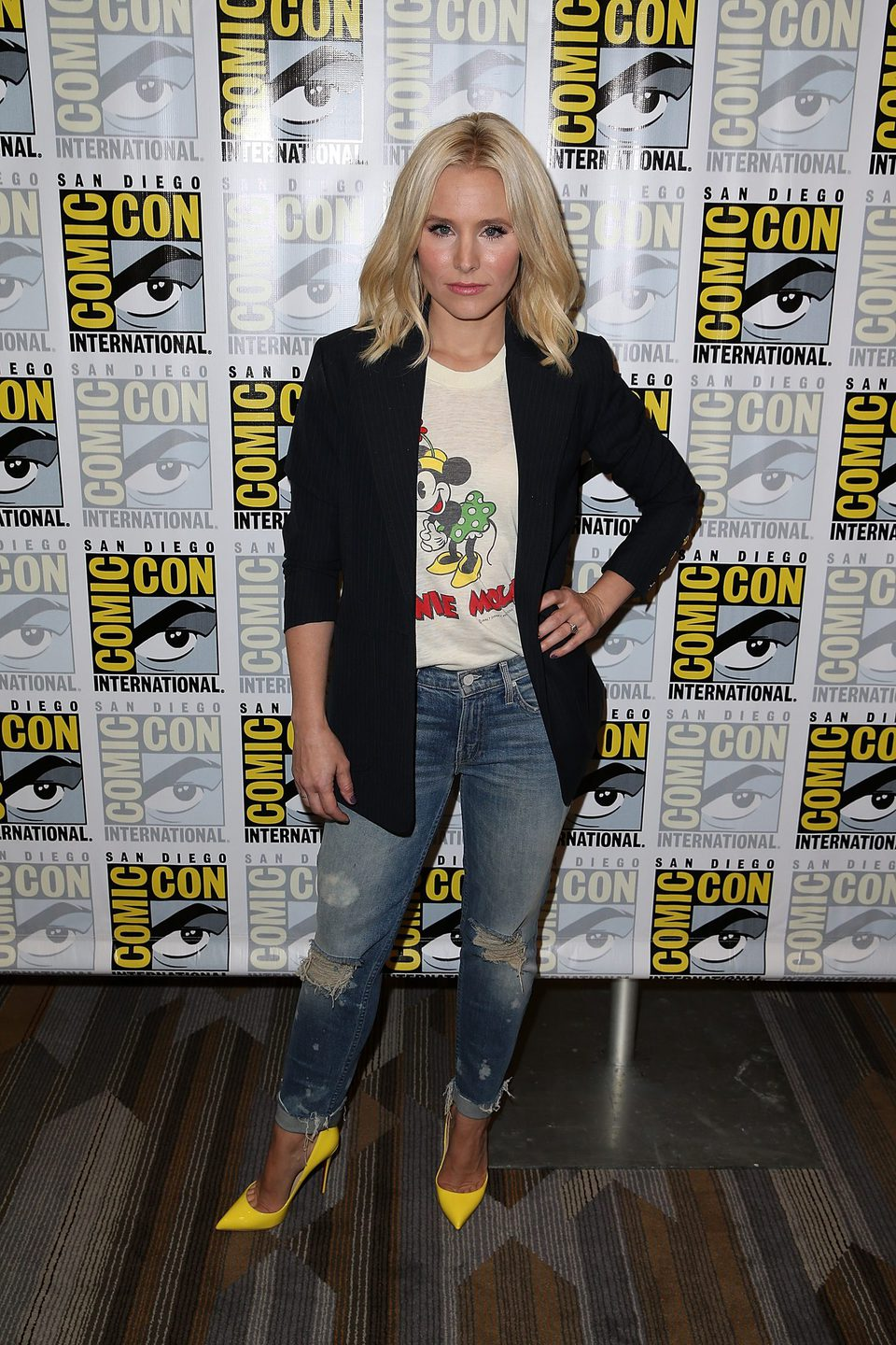 Kristen Bell attend the Comic-Con International 2016
