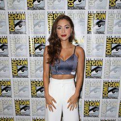 Lindsey Morgan en la Comic-Con de San Diego 2016