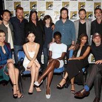 Reparto de 'The Walking Dead' en la Comic-Con de San Diego 2016