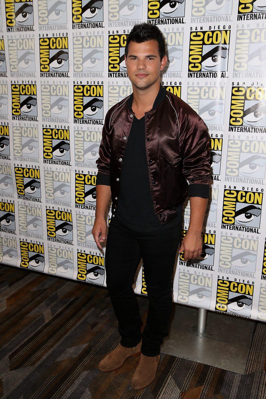 Taylor Lautner en la Comic-Con de San Diego 2016