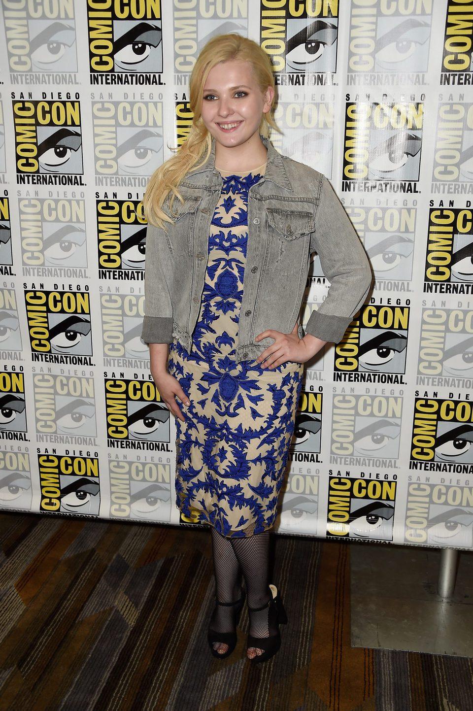 Abigail Breslin en la Comic-Con de San Diego 2016