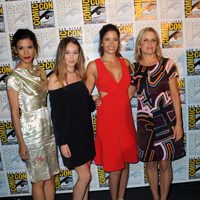 Reparto femenino de 'Fear The Walking Dead' en la Comic-Con de San Diego 2016